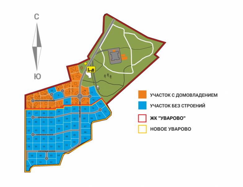 Генеральный план Уварово