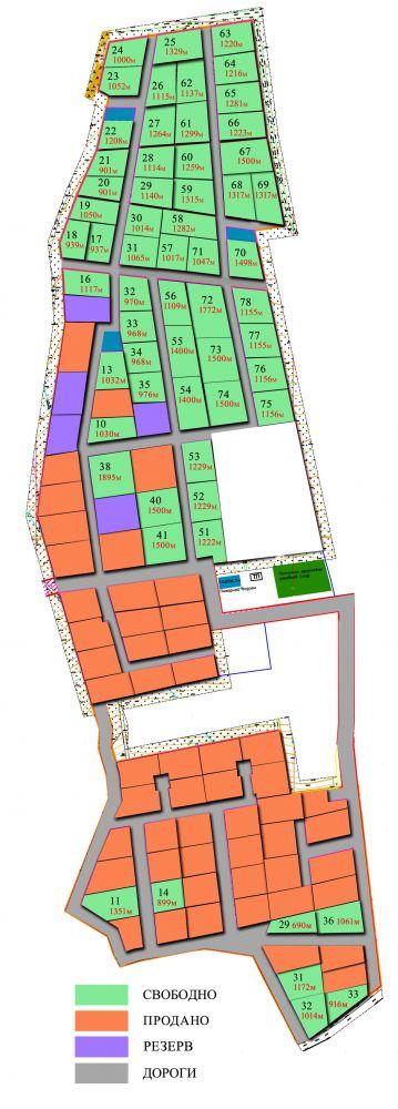 Генеральный план Город на ладони
