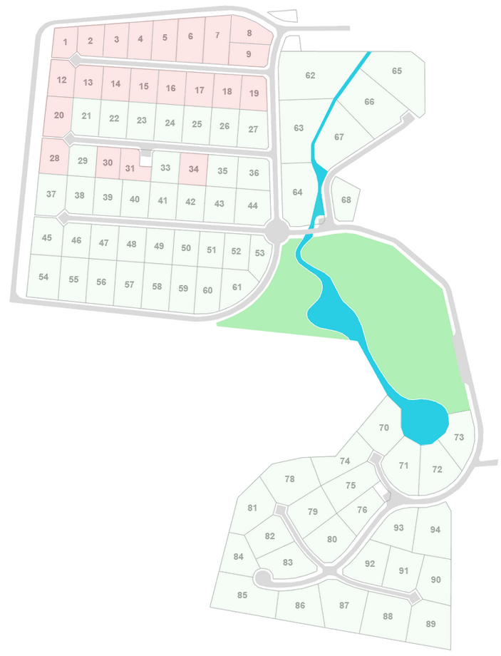 Генеральный план Семь ручьев