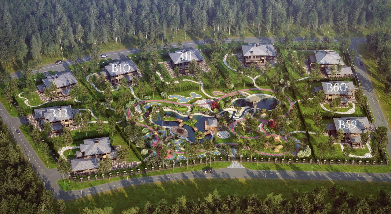 Генеральный план Райт Парк