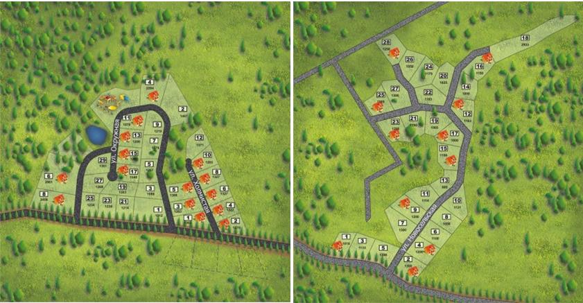 Генеральный план GREEN HILLS