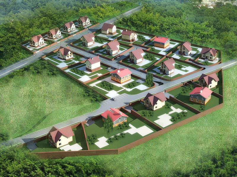 Генеральный план Зеленая долина