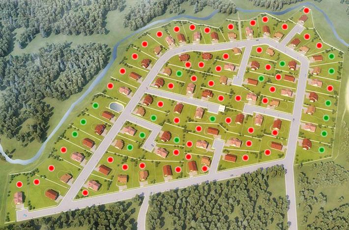Генеральный план Киварин ручей