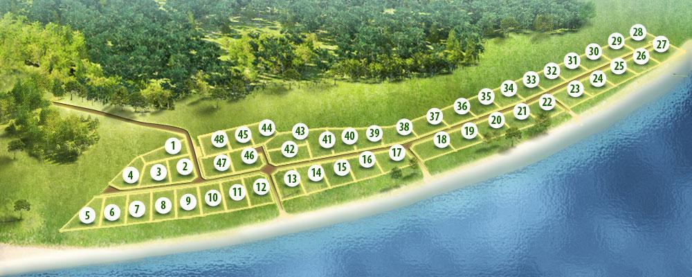Генеральный план Прибрежное