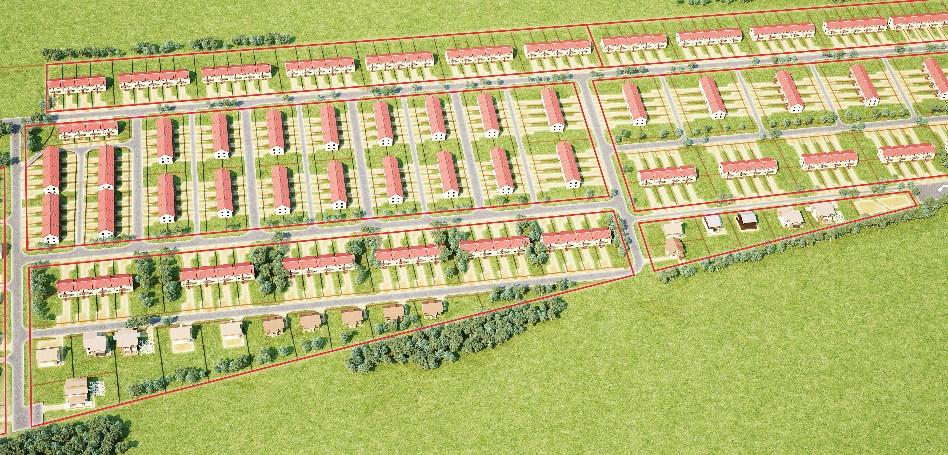 Генеральный план Кивеннапа Юго-Запад
