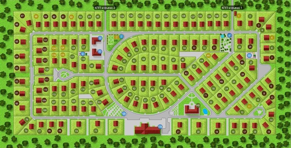 Генеральный план Новый Петербург