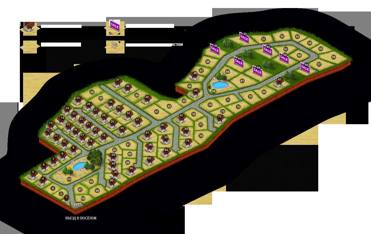 Генеральный план Рублево