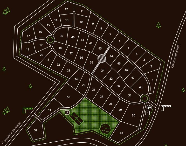 Генеральный план HONKANOVA Concept Residence