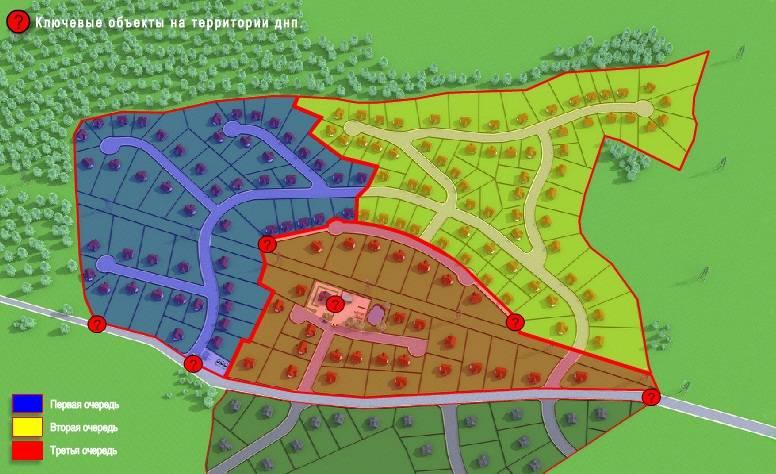Генеральный план Коркинские просторы