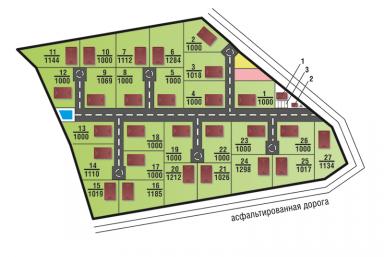 Генеральный план Дмитрово