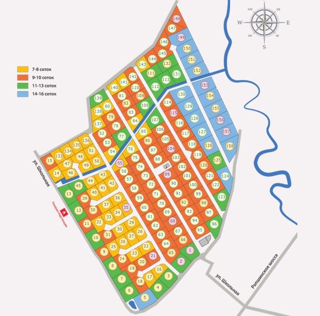 Генеральный план На речке