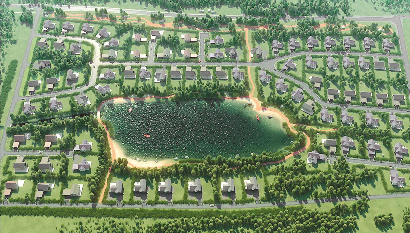 Генеральный план Сад Времени