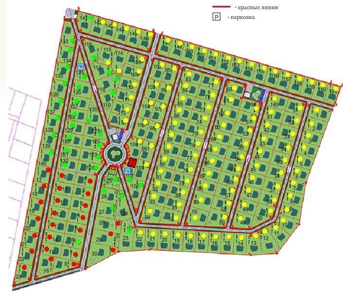 Генеральный план Старая мельница