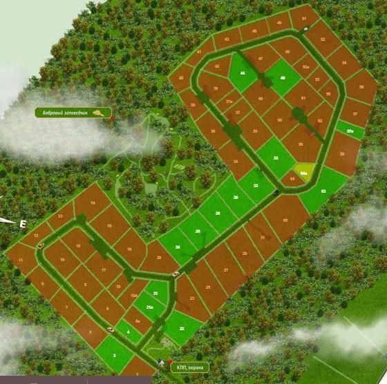 Генеральный план Хутор близ Извары