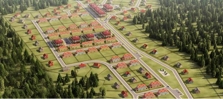 Генеральный план Nova Green