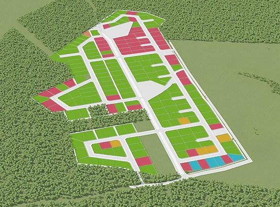 Генеральный план Марьин парк