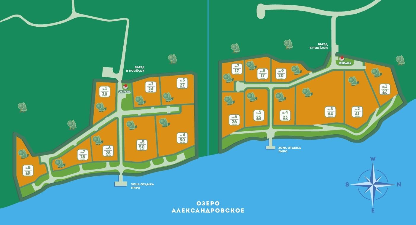 Генеральный план Александровские берега