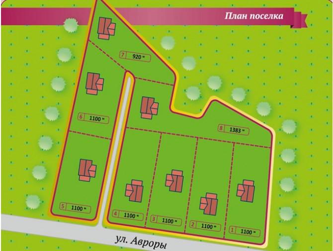 Генеральный план Дачи в Сиверской