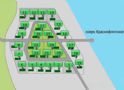 Генеральный план Краснофлотское