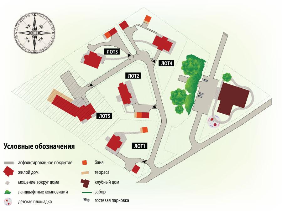 Генеральный план Rovaniemi Club