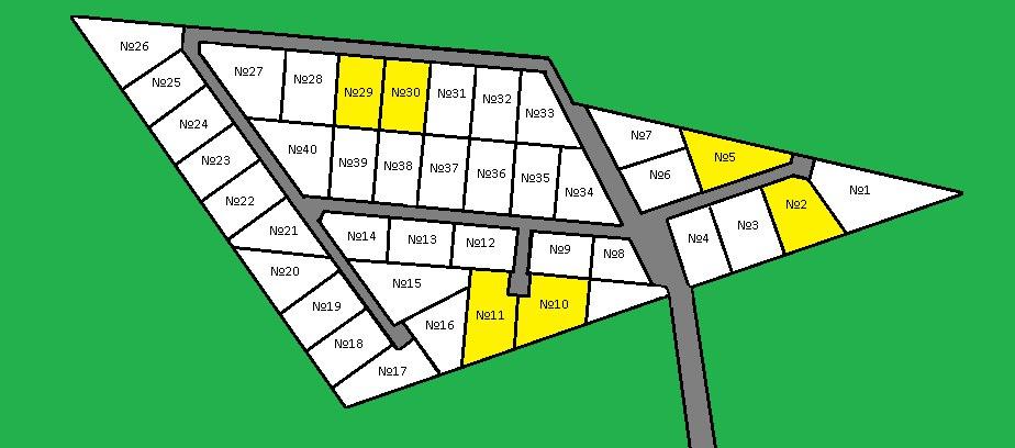 Генеральный план Золотой треугольник