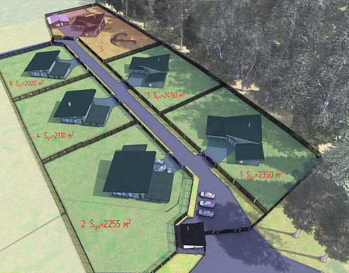 Генеральный план Шале-парк Superbia