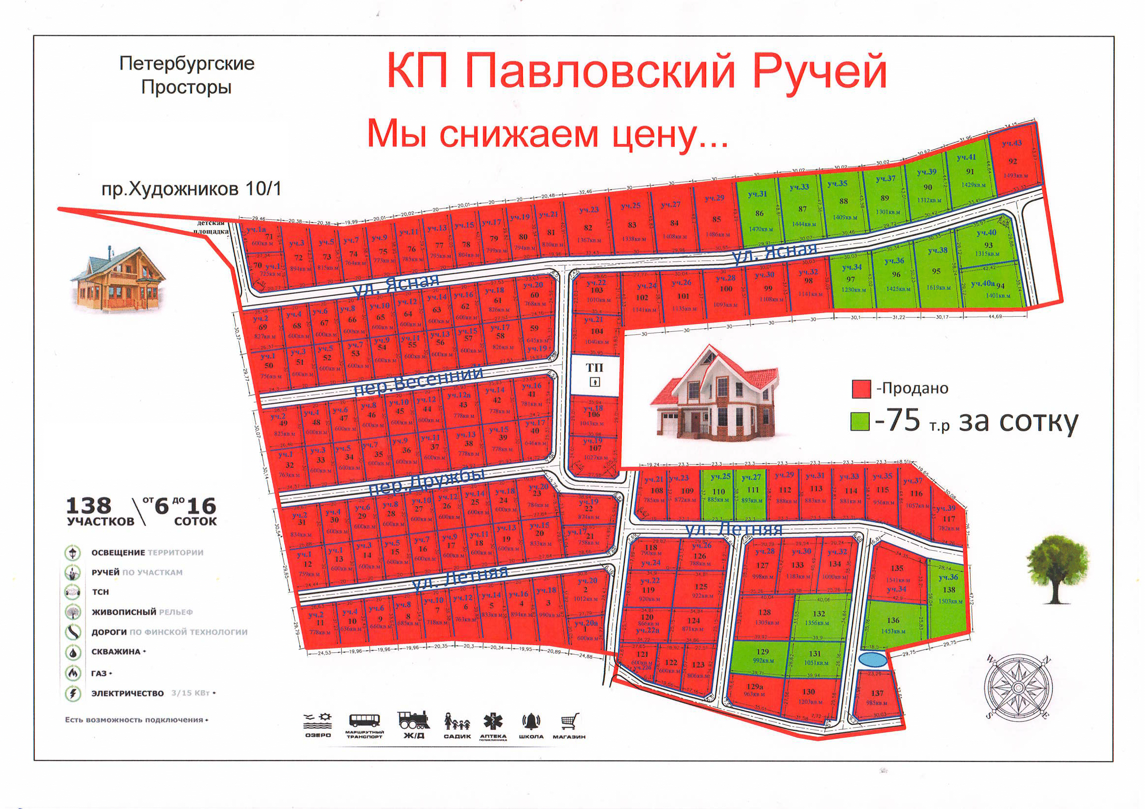 Генеральный план Павловский ручей