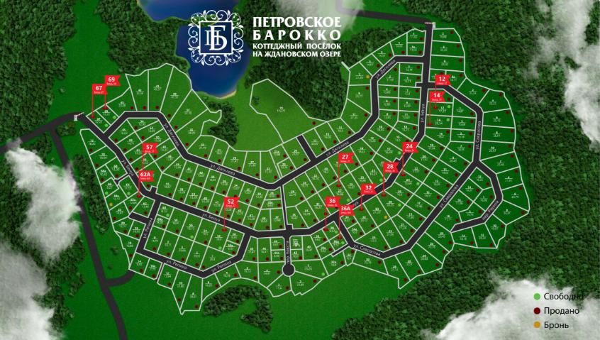 Генеральный план Петровское Барокко