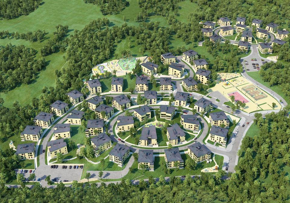 Генеральный план Mistola Hills