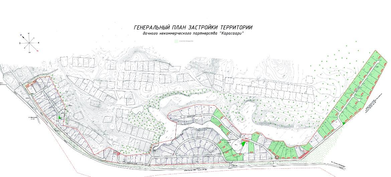 Генеральный план Карасаари