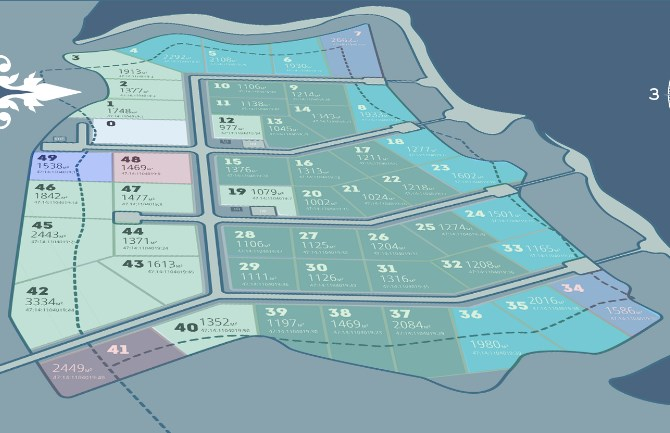 Генеральный план Дивное озеро