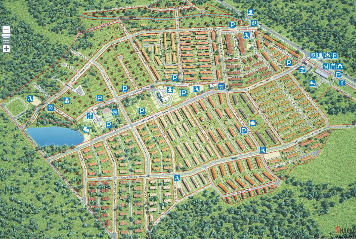 Генеральный план Кивеннапа Север