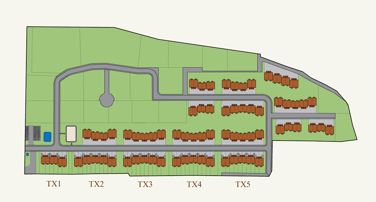 Генеральный план Ломоносовская усадьба