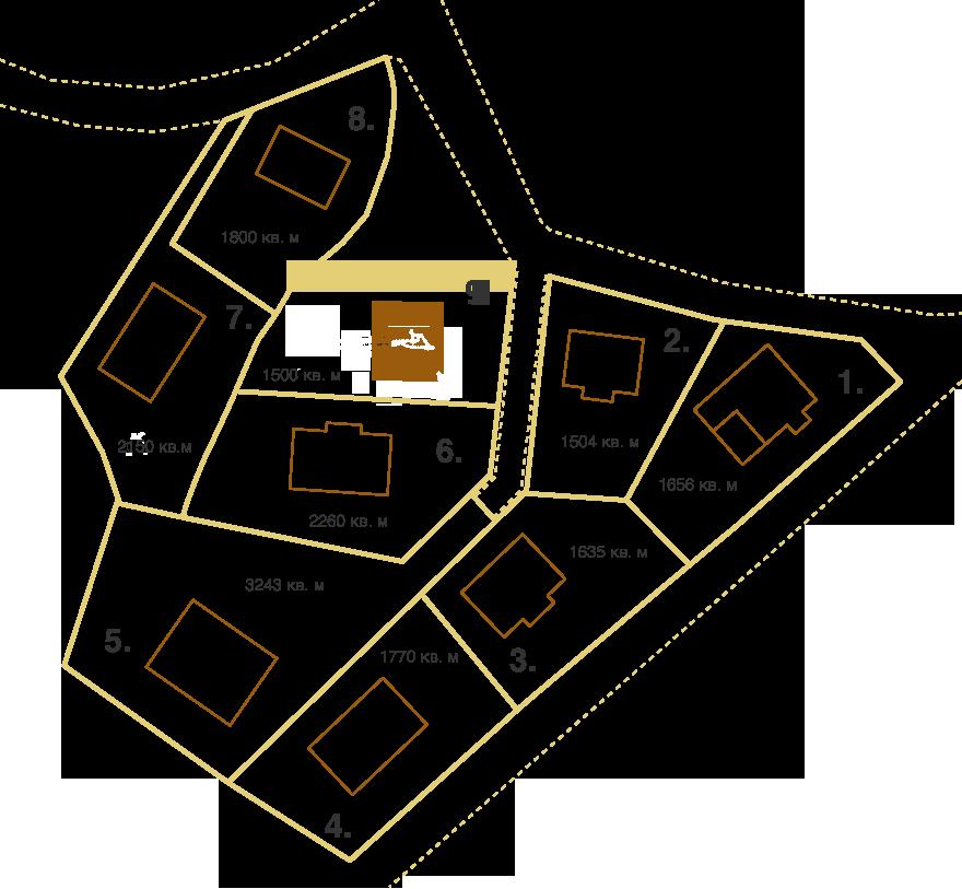Генеральный план Репинская Ривьера