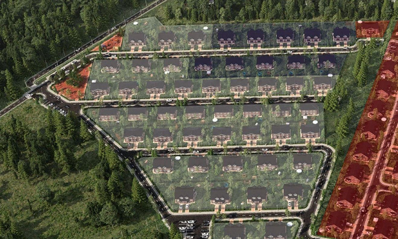 Генеральный план Юкковское парк
