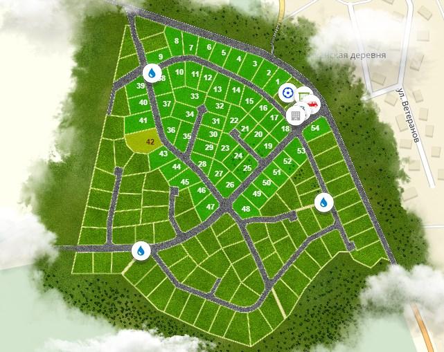 Генеральный план Кавголовские Холмы