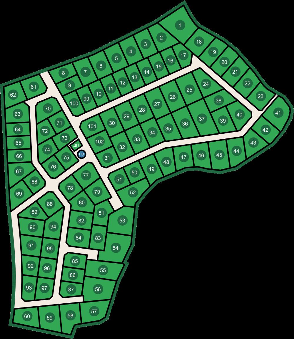 Генеральный план Рощинский хутор