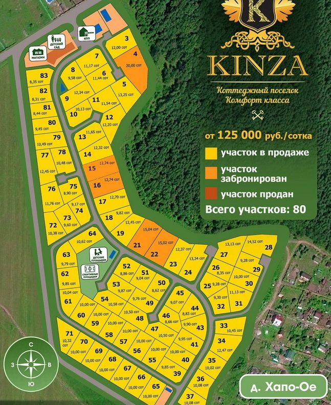 Генеральный план Кинза