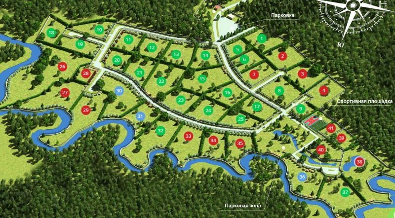 Генеральный план New Paradise (Нью Парадиз)