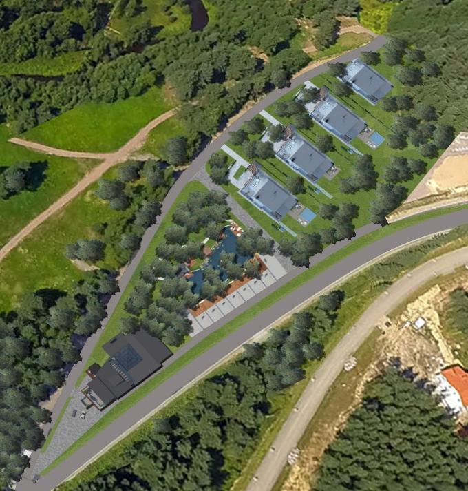 Генеральный план Охта Spa Residence