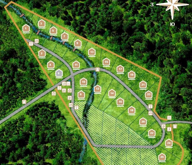 Генеральный план Солнечный орнамент