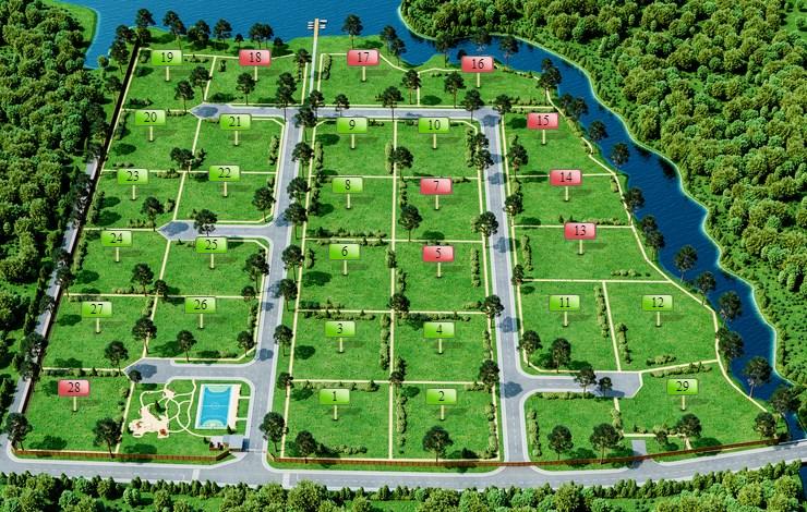 Генеральный план Ривер Парк