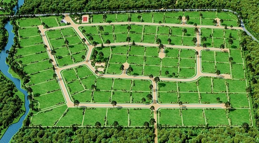 Генеральный план Рощино Парк