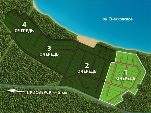 Генеральный план Снетково