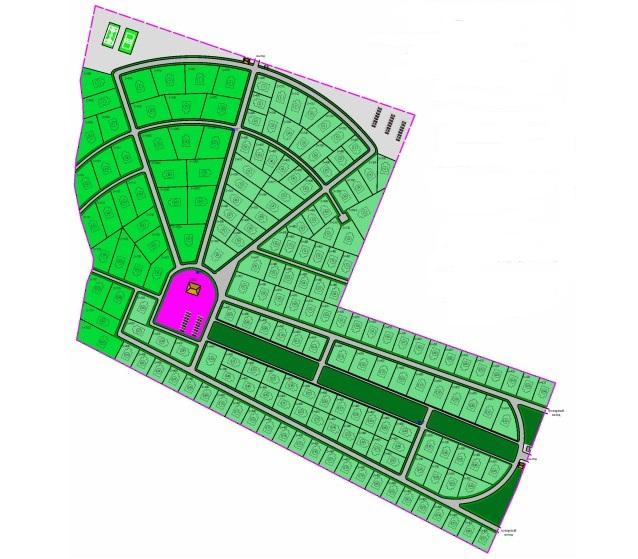 Генеральный план Oliki Verde