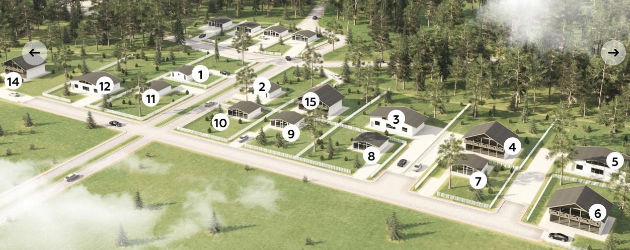 Генеральный план Davinci Villas