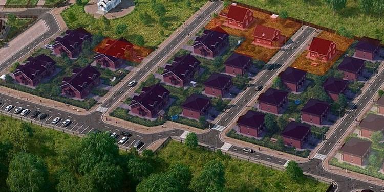 Генеральный план Вартемяги парк 4