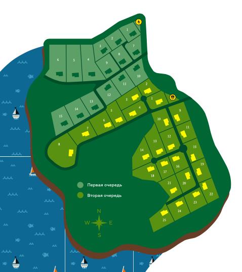 Генеральный план Красницино