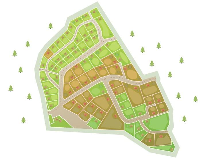 Генеральный план Корела Парк