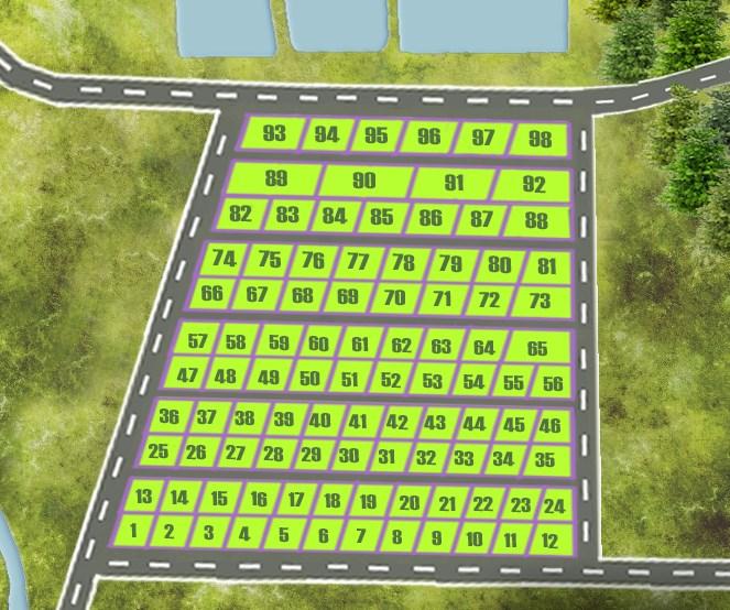 Генеральный план Ижорский сад